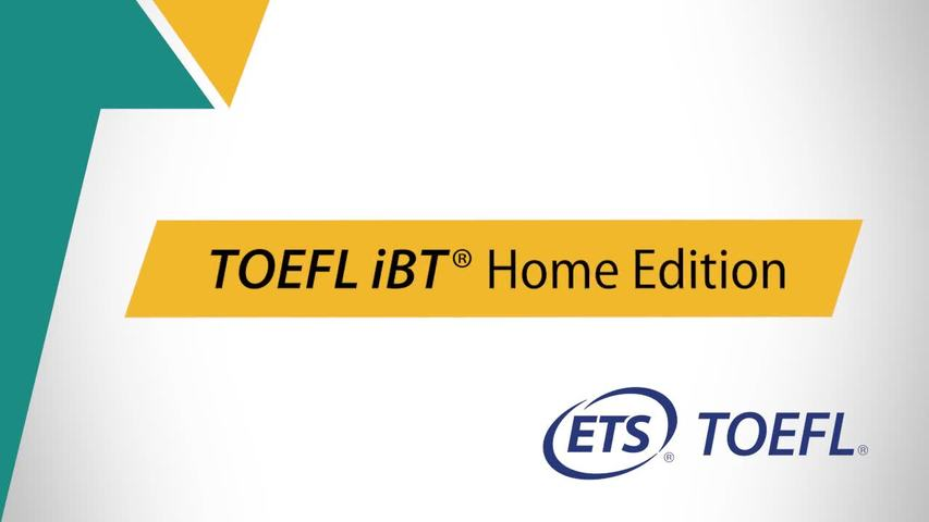 Toefl ibt home edition why student should appear for it?