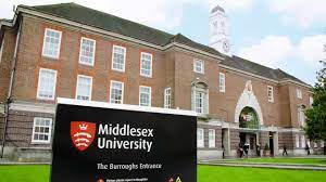 Application Form of Middlesex University
